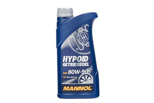 MANNOL Hypoid Getriebeoel 80W-90 API GL 4/GL 5 LS, 1 Liter