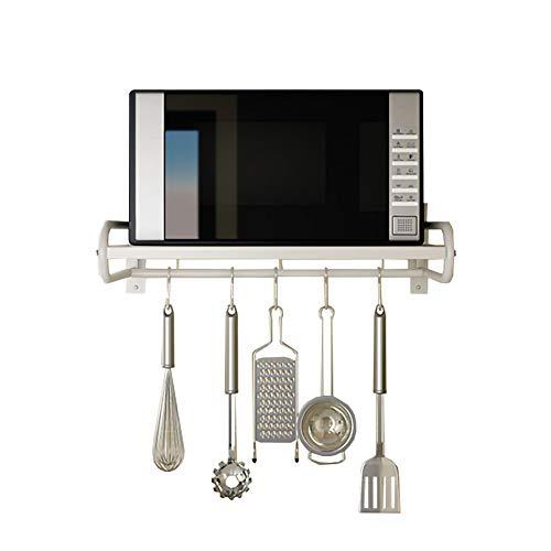 ZMW 304 Acero Inoxidable Soporte para Microondas,Montadas en la Pared Estante Del Horno,Cocina Bathroom…