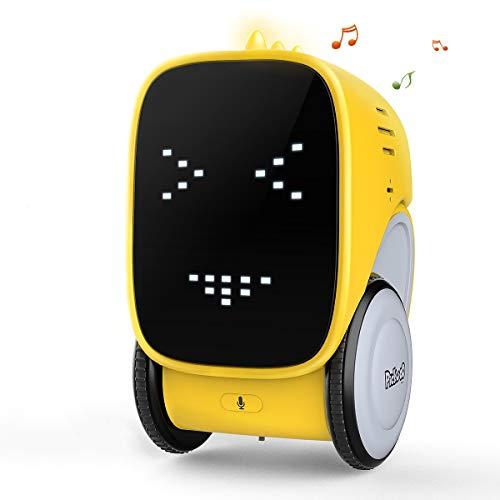 Robot Jouet éDucatif Toy-Robot Interactif Intelligent Artificielle à Commande Vocale / ContrôLe ...