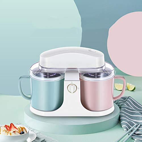 Find Discount JJCFM Automatic Electric Ice Cream Maker, Ll Household Children's Ice Cream Machine, Suitable for Frozen Yogurt, Sorbet, and Ice Cream Maker, Easy to Use