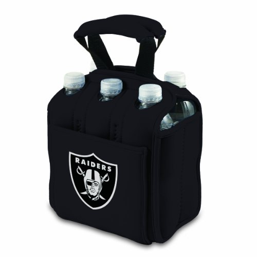 NFL Oakland Raiders Six Pack Cooler Tote