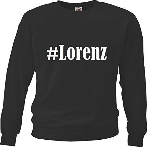 Reifen-Markt Sweatshirt Damen #Lorenz Größe XS Farbe Schwarz Druck Weiss