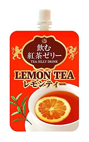 セイウ 飲む紅茶ゼリー レモンティー 180g ×6個