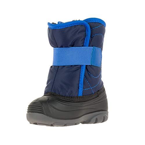 Kamik Unisex Baby SNOWBUG3 Snow Boot, Navy, 6 Medium US Toddler