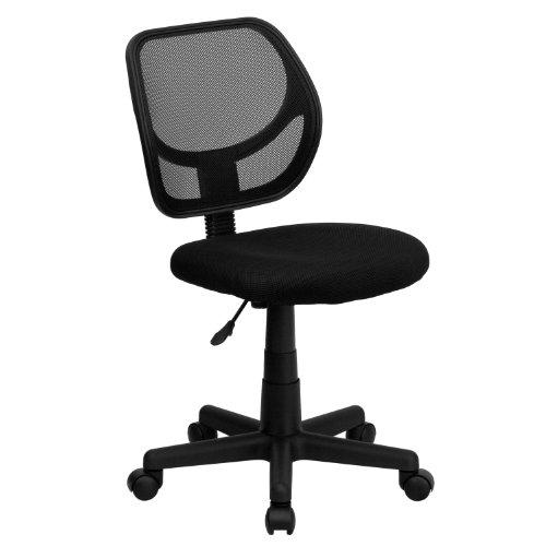 Low Back Mesh Swivel Task Chair Black - Belnick