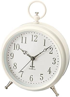 BRUNO ブルーノ パステルレトロアラームクロック アイボリー 時計 置時計 目覚まし時計 目覚まし アナログ時計 おしゃれ お洒落 お祝い かわいい ランキング プレゼント ギフト 贈り物 小型 卓上 2760264 BCA008-IV