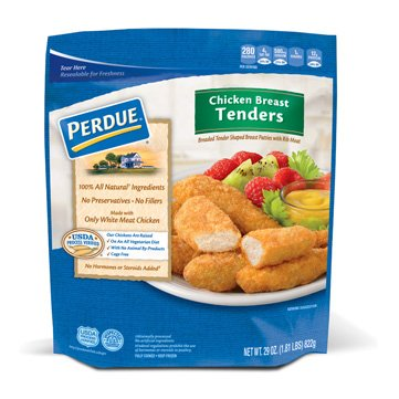PERDUE BREADED CHICKEN BREAST TENDERS 29 OZ PACK OF 2