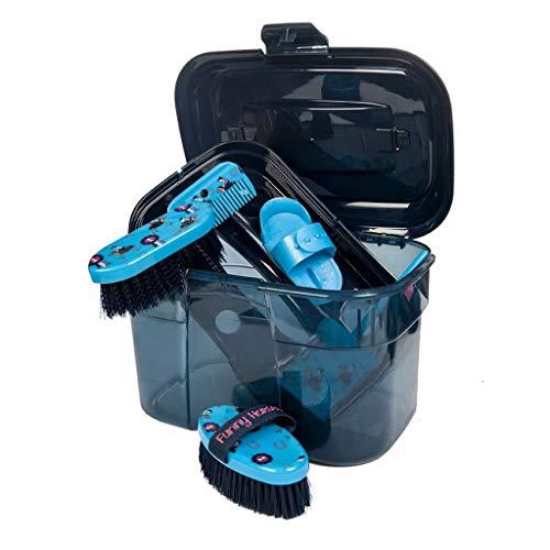 HKM 4057052188749 - Set di pulizia -Funny Horses-6500, colore: Blu
