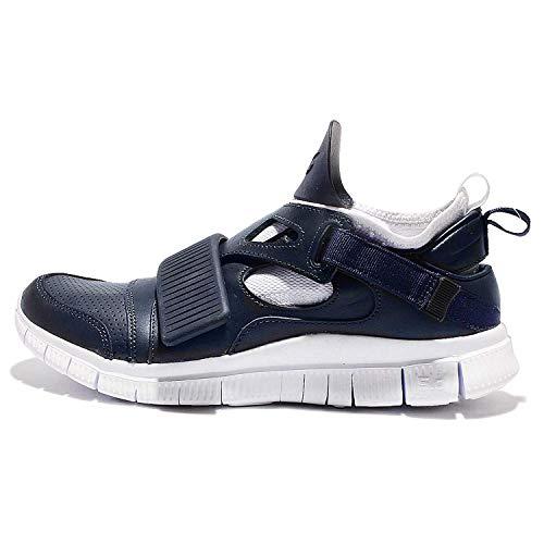 Nike Free Huarache Carnivore SP, Zapatillas de Running Hombre, Gris/Negro/Blanco (Obsidian/White-Catalina-Black), 44