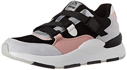MTNG Damen 69635 Sneaker, Schwarzes Netz Yt 0692 Schwarz C49107, 36 EU