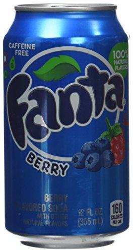 Fanta Berry - Paquete de 12 x 355 ml - Total: 4260 ml