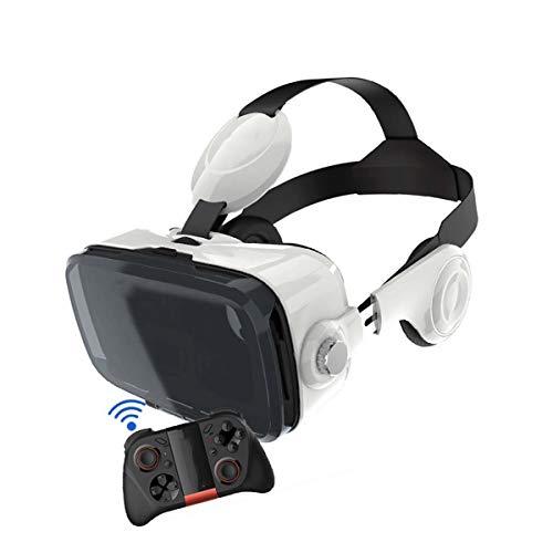 VR Brille Handy Virtual Reality Brille HD VR Headset für 3D Film und Spiele für iPhone 12/11/Pro/X/Xs/Max/XR/Mini/8/7/6 für Android Samsung S/20/10/9/8/Plus/Note Smartphone