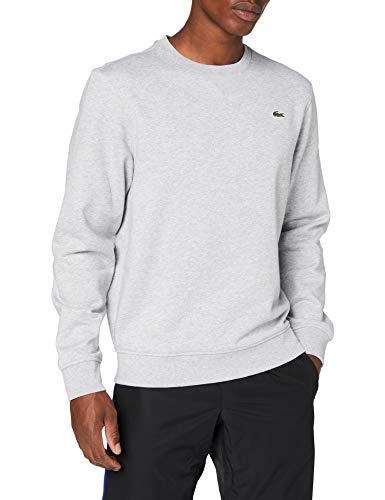 Lacoste Herren SH1505 Sweatshirt, Grau (Argent Chine/Elephant), 5