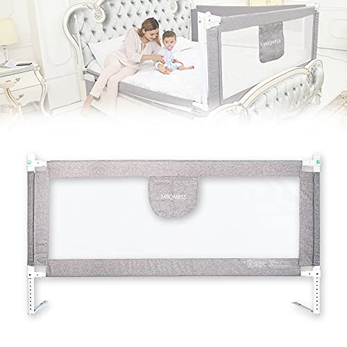 """Bed Rail for Toddlers 69"""" L, Infants Safety Bed Guardrail, Baby Protector Rail with Breathable Fabric for Twin Full Cot Size (70-1 Side)"""