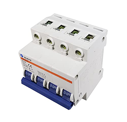 Voltimerc Interruptor Magnetotérmico 4 Polos 10A 6KA