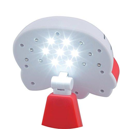 『カクセー ハローキティ LEDライト レッド 731450』の7枚目の画像