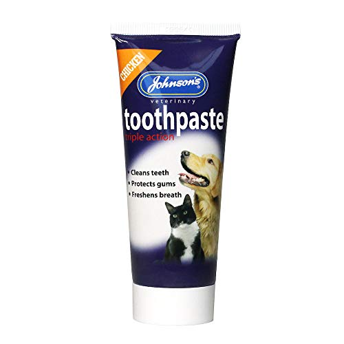 Johnsons Chicken Triple Action Toothpaste for Cats & Dogs