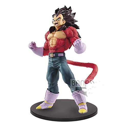 DB Dragon Ball Super Saiyans 4 SSJ4 Vegeta PVC Action Figura Model Figure Dolls