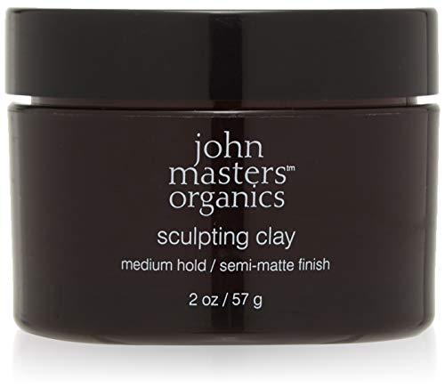 john masters organics Sculpting Clay Medium Hold Semi Matte Finish, 1er Pack (1 x 57 g)