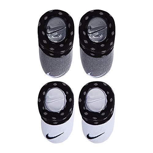 Nike Baby Team Hustle D 9 (TD) Sneaker, Black/Metallic Silver-Wolf Grey, 7C Regular US Toddler