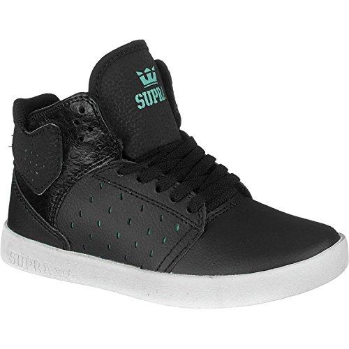Supra Kids Atom Sneaker Black/Atlantis US5,5/EU38