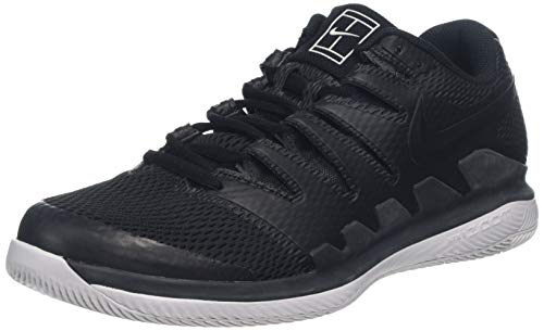 Nike Men's Air Zoom Vapor X Tennis Shoes (8 D US, Black/Black/Vast Grey/Anthracit)