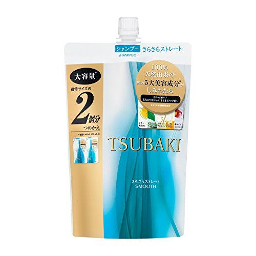 TSUBAKI SMOOTH & STRAIGHT SHAMPOO 660ML REFILL