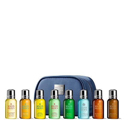 Molton Brown Herren-Kosmetik-Set, Reisegröße, 8 x 30 ml