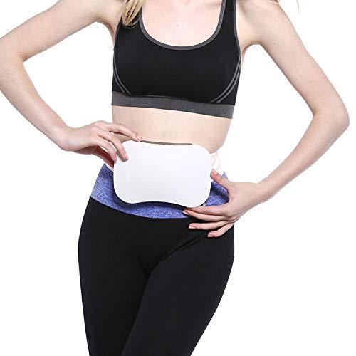 JINQI Entrenadores De Vibración Estimulador Cinturón De Tonificación Muscular con Programas De Velocidad Infinitamente Variable Masajeador Corporal para El Abdomen Muscular del Estómago
