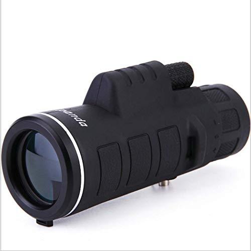 GGPUS Monokular, Zoom-Monokularteleskop, HD-Nachtsichtgerät mit Telefonadapter-Stativ zum Beobachten, Jagen, Camping, Wandern, Outdoor 35X50