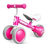 AyeKu Baby Balance Bike, Bikes for Toddlers Age 12-24 Months, Best Gifts for Girls Boys toScoot Around with Comfortable Adjustable seat in 3 Wheels