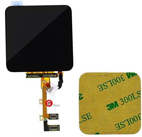 Pantalla táctil LCD para iPod Nano 6 generación, cinta adhesiva de doble cara 3M, color negro