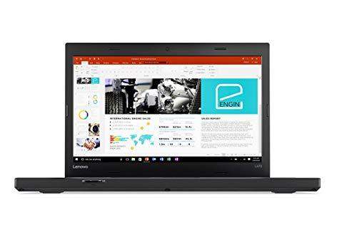 Lenovo ThinkPad L470 (14' Full HD) Notebook Intel Core i3-7100U 2x2,40GHz 8GB RAM 250GB SSD Bluetooth VGA RJ-45 USB 3.0 Windows 10 Pro