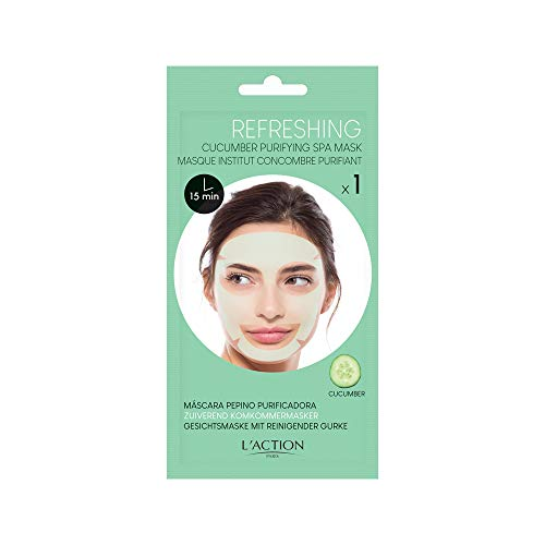 L'Action Paris Cucumber purifying spa mask