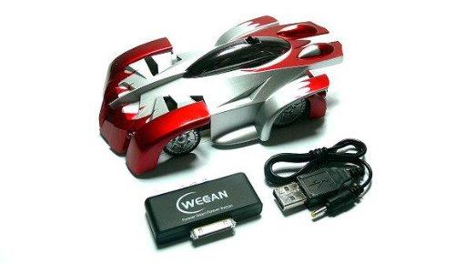 RCECHO WECAN Modell iW500 iSpace R/C Hobby Red Car für die Verwendung mit iPod iPhone iPad EC500 Vollversion Apps Ausgabe