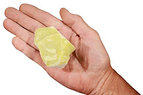 Rock Your Chakra Lemon Quartz 3 1/2&Quot; 11-14 Oz Solar Plexus Chakra Healing Crystal Rough Rock Mineral Raw Specimen