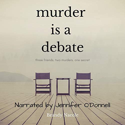 Murder Is a Debate audiobook cover art