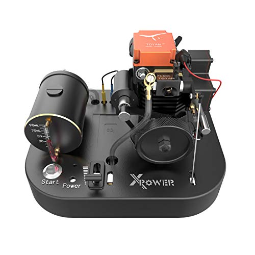 FenglinTech Toyan 4 Stroke RC Engine, FS-S100A Methanol Complete Engine Set for 1:8 1:10 1:12 Car Ship Airplane Model
