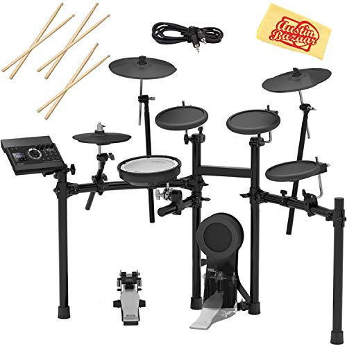Roland TD-11K Electronic Drum Set Bundle with 3 Pairs of Sticks, Audio Cable,...