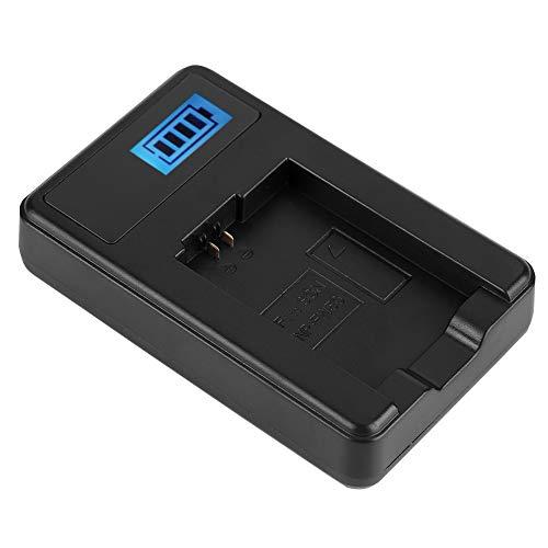 Sharainn Cargador de batería NP-FW50, Cargador de 600mAh 4.2 Cámaras Digitales de 8.4V para A6000 A6300 A6500 A7r A7