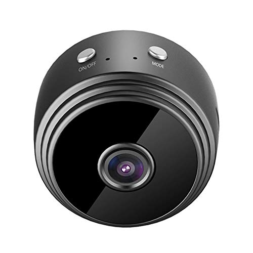 yunchengyunxiangtong Cámara Web USB HD Mini cámara WiFi inalámbrica IP Home Security HD 1080p Cámara inalámbrica Mini WiFi Cámara de Seguridad for el hogar (Color : Black)