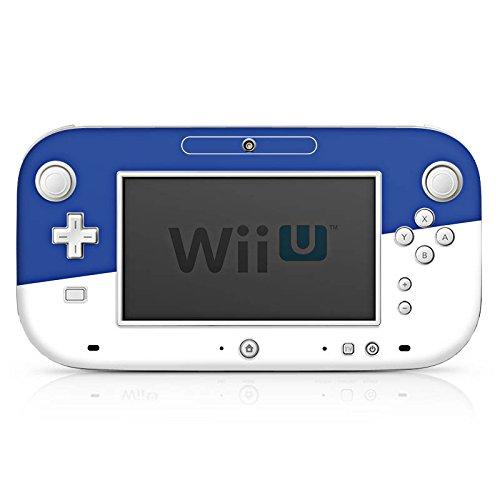 DeinDesign Skin Aufkleber Sticker Folie für Nintendo Wii U Gamepad Sportverein Mannschaft Lilien