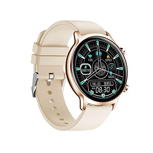 huanglianglanshangmao Smart Pulset Watch Mensaje de recordatorio de Llamada Impermeable Push Función del podómetro de presión Arterial (Color : 3)