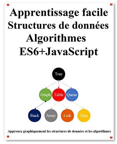 Couverture du livre Apprentissage facile Structures de données et algorithmes ES6+JavaScript: Structures de données et algorithmes classiques dans ES6 + JavaScript