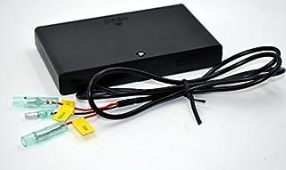 ETC カーナビ カーセキュリティー カバー付きバッテリーボックス 単三8本用 電池ボックス