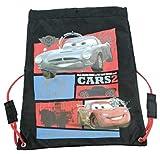 Bolsa escolar para niños y niñas con personajes, gimnasio, polietileno, PVC (Disney Cars)