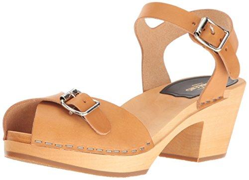swedish hasbeens PIA Hight Sandalen/Sandaletten Femmes Beige - 36 - Sandalen/Sandaletten