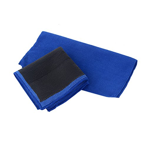 2 Pack Magic Clay Towel, Microfiber Claying Towel Clay Bar Towel Fine Grade Auto Detailing Clay Towel Surface Pre Clay Towel for Car Care 12