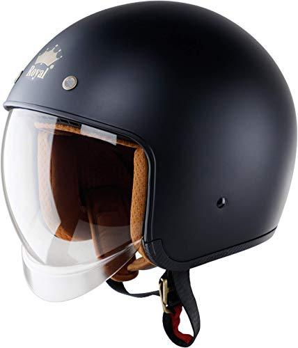 Royal M139 Open Face Motorcycle Helmet
