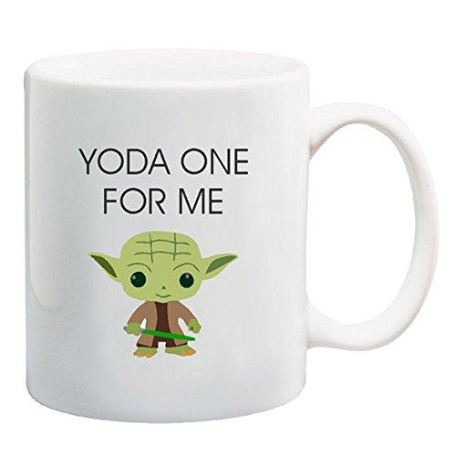 Yamogg Yoda One For Me Yoda Mug, Christmas Gift, Stocking stuffer, Gift for boyfriend,...
